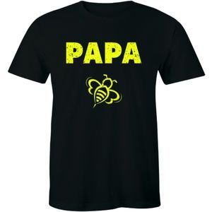 Papa Bee Dad Daddy Bees Lover Fathers Day T-shirt